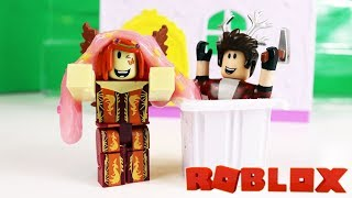 SLIME TREASURE! Roblox Toys Slimy Day! Roleplay Adventure