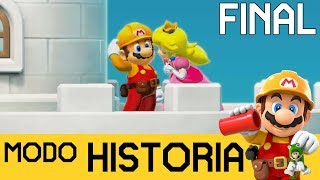 ¡¡CASTILLO AL 100%!! GRAN FINAL - MODO HISTORIA #5 | SUPER MARIO MAKER 2 (Switch) - ZetaSSJ