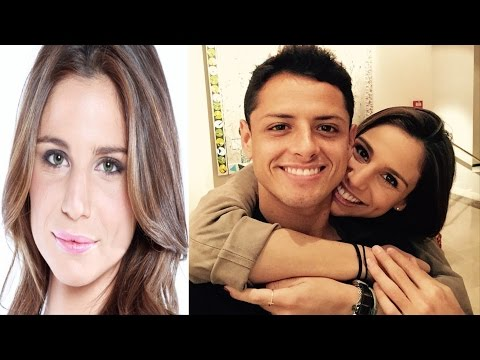 Javier Hernandez Chicharito's girlfriend TV reporter Lucia Villalon