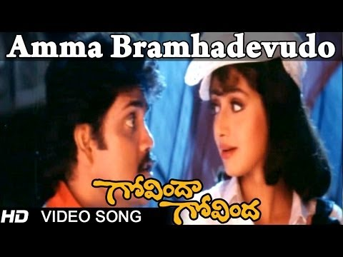 Govinda Govinda Movie |  Amma Bramhadevudo Video Song | Nagarjuna...