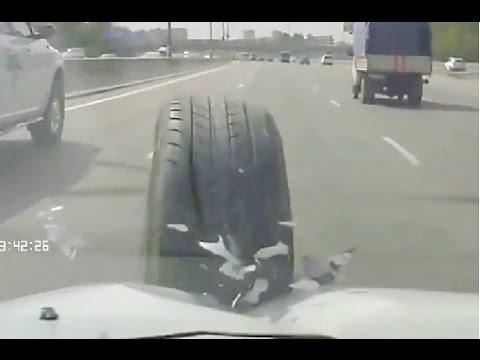 Flying car wheel Compilation
