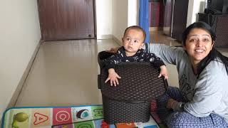 ENGAGING WITH TOYS AT HOME | KABIR PAYET | AT 10 MONTHS
