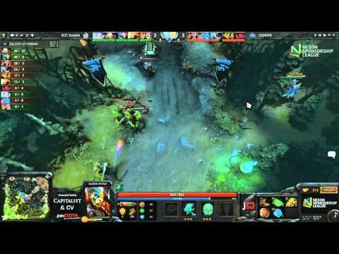 Zephyr vs EoT H Game 3 - Nexon Sponsorship League DOTA 2 - Capitalist & CV
