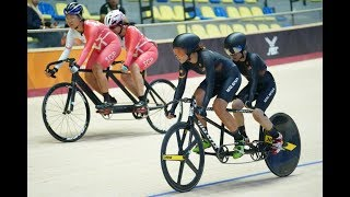 LIVE - London Paracycling Track International (Track) - Lee Valley VeloPark, London