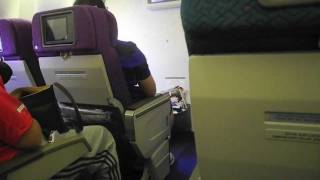 Malaysia Airlines Boeing 777-200ER Economy Class - Hong Kong ✈ Kuala Lumpur (MH73)