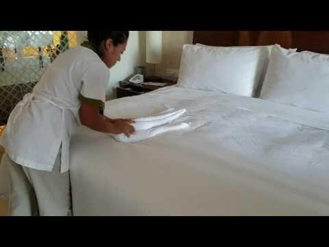 Как делают лебедей в гостинице