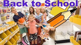 School Supplies for SIX KIDS | GIVE AWAY 2017
