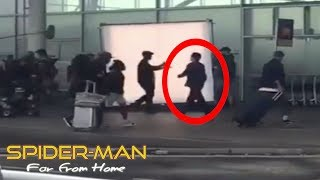 LEAKED Spider-Man Far From Home Set Video