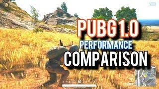 PUBG 1.0 Performance Comparison – 6 Budget GPUs Tested!