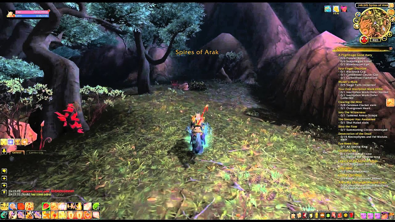 Where is windswept terrace wod explore spires of arak for The terrace location