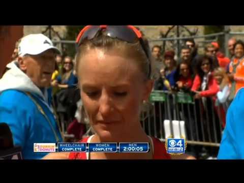 Shalane Flanagan Sets Personal Best On Boston Marathon Course