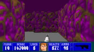 Wolfenstein 3D - Episode 1, Floor 10