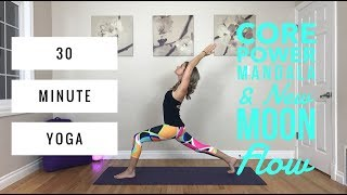Core Power Yoga - Mandala Flow for the New Moon Core, Quads