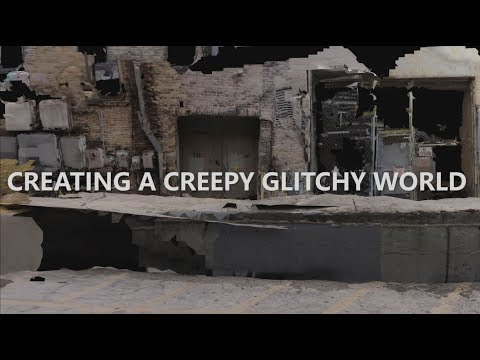 Creating a creepy glitchy world with 3D scanning tools