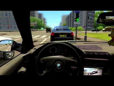 City Car Driving 1.2.5: BMW M5 E34