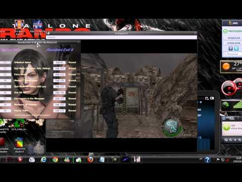 Como Ter Munição Infinita , Dinheiro Infinito E Etc No Resident Evil 4 PC