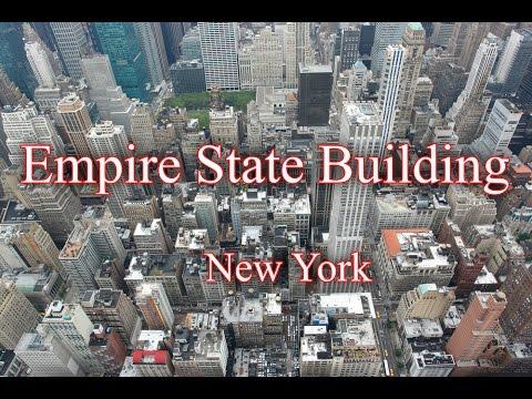 Самое мощное здание в Нью-Йорке.  Empire State Building