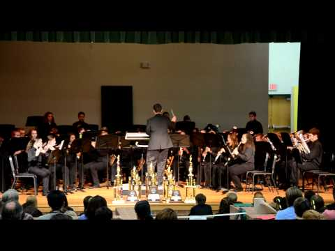 Evans Middle School Spring Concert 2012- Concert Band 1 -  Song 3