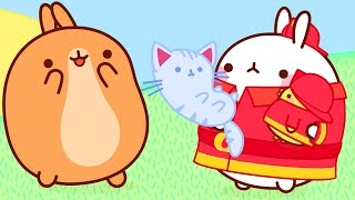 MOLANG is the FIREMEN - MOLANG COMPILATION - Cartoon for Kids