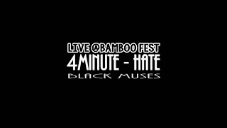 [BambooFest2016] 4Minute - Hate Dance Cover || Bl4ck Muses