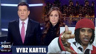 Vybz Kartel On FOX5 News!! Dawson Says Kartel Soon FREE.. | New Song With Squash | Shokryme