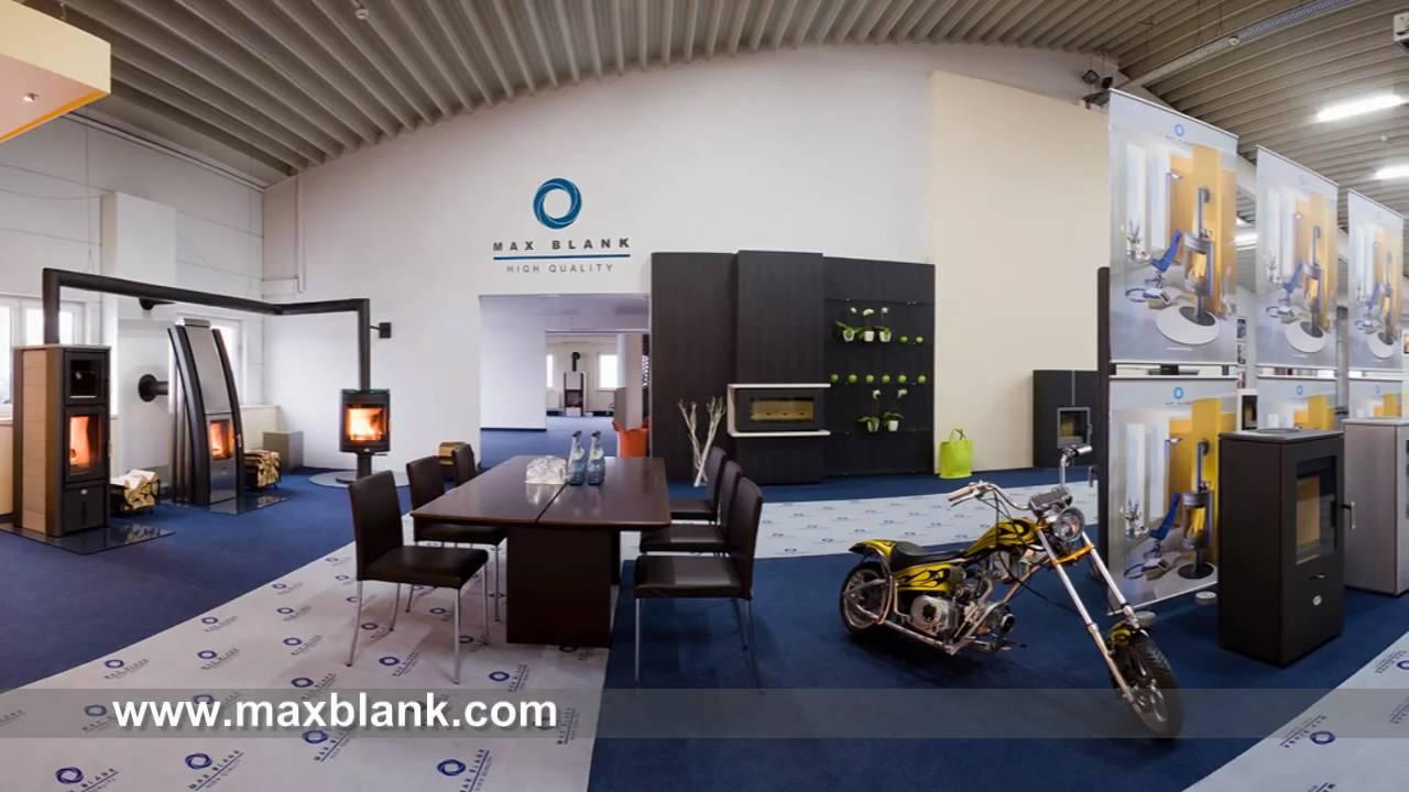 ausstellungsraum kamin fen in westheim max blank youtube. Black Bedroom Furniture Sets. Home Design Ideas