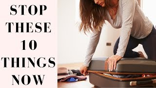 Packing Mistakes We All Make & How To Fix Them