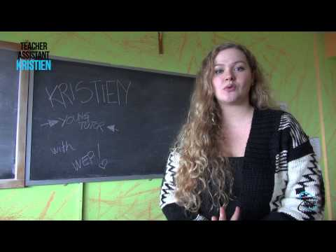 Wep - Teacher Assistant In Italy - Kristien video