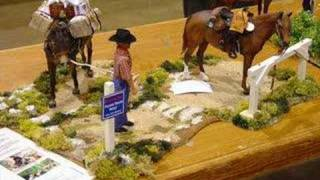 cool breyer horses and scenes