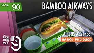 Flying to Phu Quoc with Bamboo Airways - Taking shower in lounge