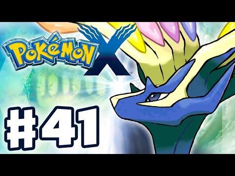 Pokemon X and Y - Gameplay Walkthrough Part 41 - Legendary Xerneas! (Nintendo 3DS)