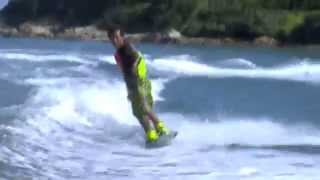 Ronnie Cheung with Liquid Force Watson Hybrid Wakeboard