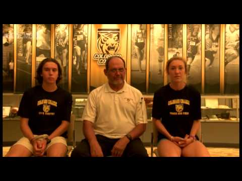 Colorado College Cross Country Media Day 2015