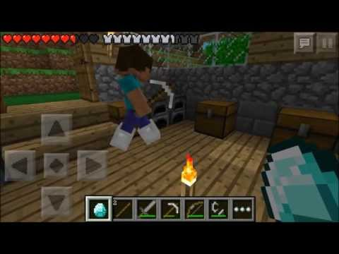 Minecraft Pocket Edition Multiplayer Lets Play! ~ Episode 2 ~ Crashes And Diamonds! W/ VGamerTV!