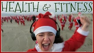 Running 5k In A Santa Suit | December Diary