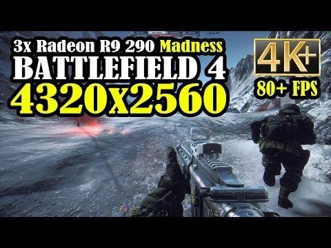 Bf4 4k Gameplay - Operation Locker (4320x2560) 3x Radeon R9 290 Overclocked Water Cooled video