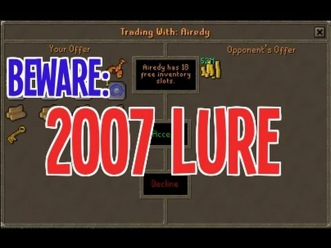 BEWARE: 2007 LURE INSIDE A LURE