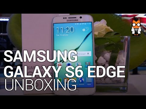 Samsung Galaxy S6 Edge Unboxing and Hands On