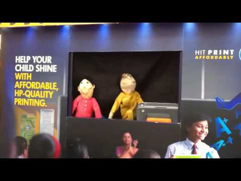 Product Activation with Puppets for Corporate Brands