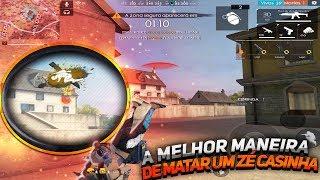 MELHOR MANEIRA DE MATAR UM ZÉ CASINHA NA RANQUEADA - FREE FIRE FT. CORINGA TV
