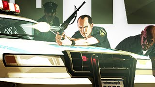 GTA 5 Glitches - Invincible From Cops Glitch! - Disable Cops From Shooting You!