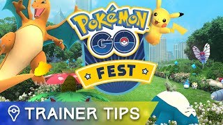 Here's what you need to know about today's Pokémon GO Fest events by : Trainer Tips
