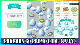 Pokemon Go Promo Code 2019 July