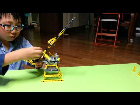 LEGO Technic machine gun