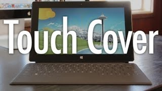 Touch Cover for Microsoft Surface Tablet Review and Demo Test