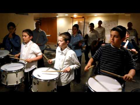 Cheder Menachem Marching Band - Day #4