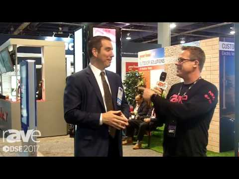 DSE 2017: Nick Belcore and Gary Kayye Talk About Digital Signage Solutions from Peerless-AV