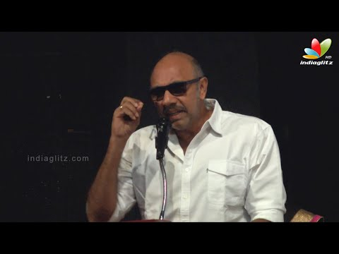 Sathyaraj and Sundararajan Funny Speech at Adhyan Audio Laun