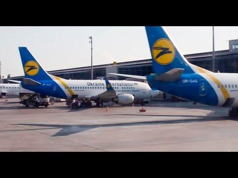 Flight from Moscow Domodedovo Airport - Kiev Borispol Airport, Boeing 737-300 (UR-GBD), UIA