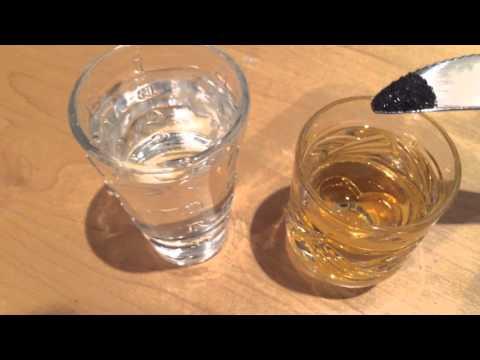 Видео как проверить водку на подлинность